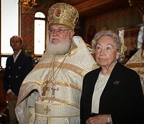 Протопресвитер Валерий Лукьянов с супругой Ириной