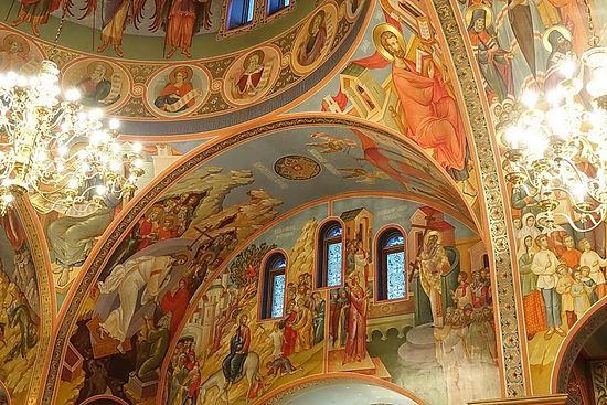 Храм во имя святого благоверного князя Александра Невского в Лейквуде