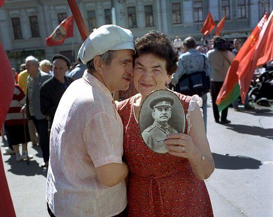Москва, 1996 г. Фото: Люсьен Перкинс