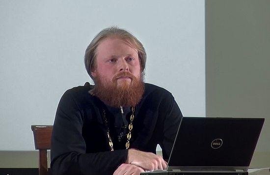 Священник Андрей Выдрин