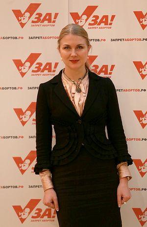 Ирина Волынец, председатель отделения Всероссийского общественного движения «Матери России» по Республике Татарстан