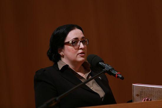 Оксана Гарнаева, руководитель благотворительного фонда «Русская береза»
