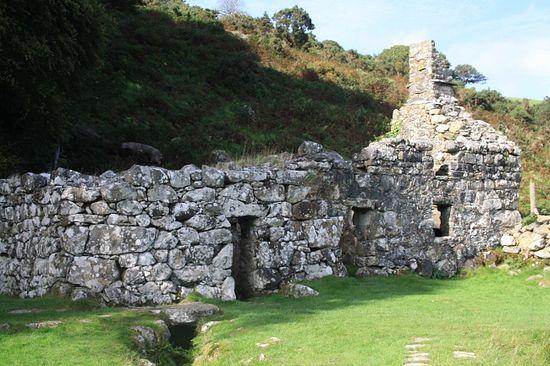 St. Cybi's Holy Well in Llangybi, Gwynedd, Wales
