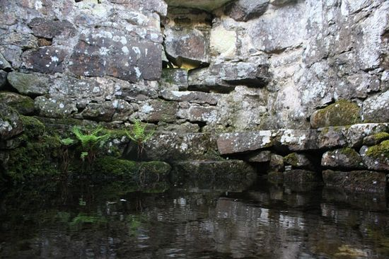 St. Cybi's Holy Well in Llangybi, Gwynedd