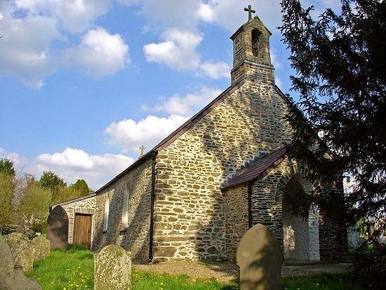 St. Cybi's Church in Llangybi, Ceredigion