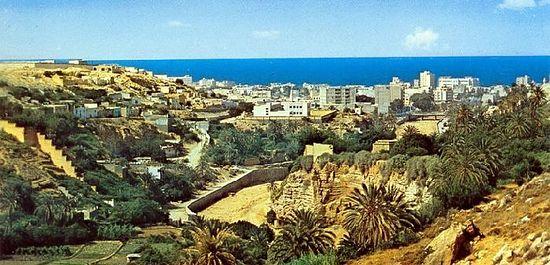 Такой была Дерна до уничтожения государства Ливия
