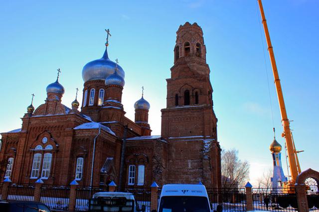 100-летняя церковь едва не превратилась в руины. Фото: Сайт Храма Архистратига Божия Михаила