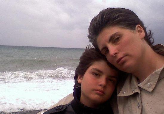 Тамара Манелашвили с сыном Лукой