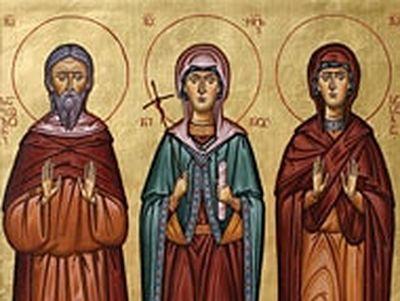 Venerable Zabulon and Sosana, Parents of the Equal-to-the-Apostles Nino (4th century)