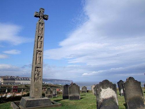 St. Caedmon's Cross in Whitby