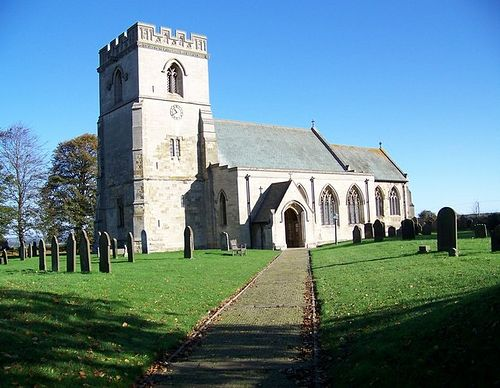 St. Hilda's Church in Sherburn, North Yorkshire