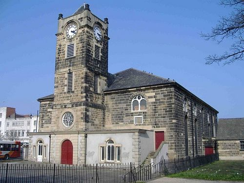 St. Hilda's Church in South Shields, Tyne and Wear