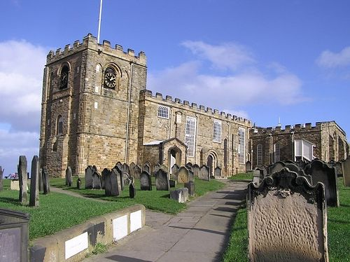 St. Mary's Church in Whitby, North Yorkshire