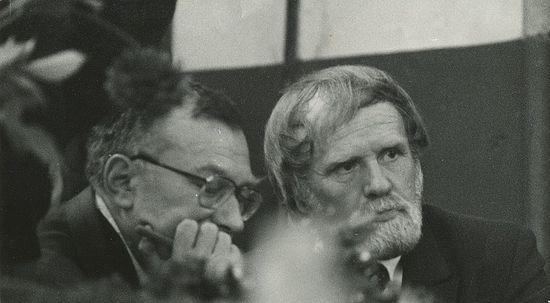 Тотьма 1985 открытие памятника Рубцову