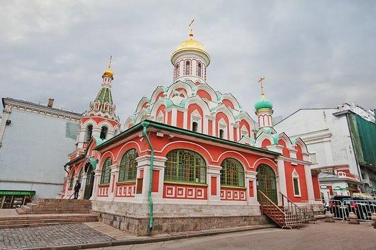 Восстановленный казанский собор