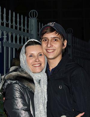 Светлана Копылова с сыном
