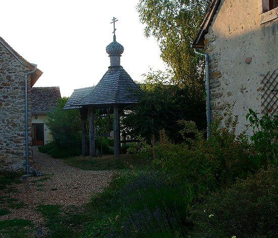 В монастыре св. Силуана
