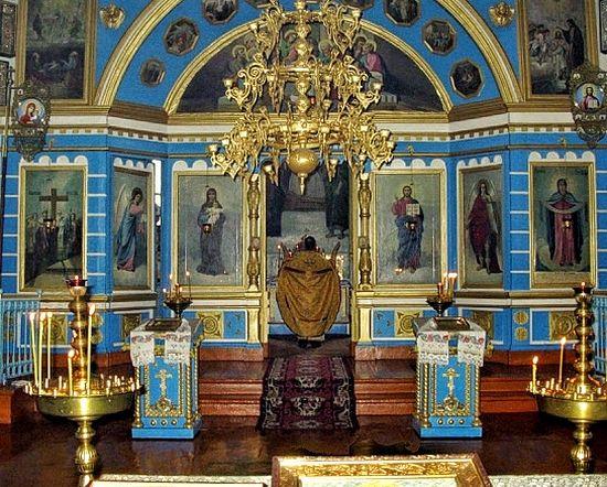 Пострадавший храм. Довоенное фото