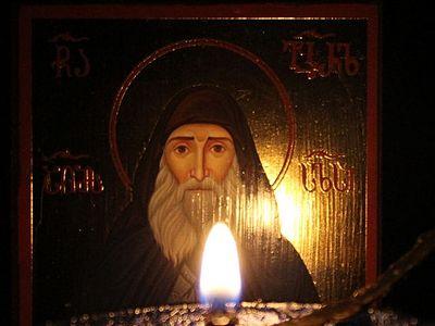 В Грузии обильно мироточит икона святого Гавриила (Ургебадзе) (ВИДЕО)