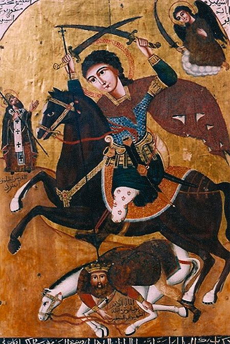 Great Martyr Mercurius of Egypt