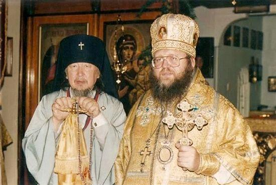 Архиепископ Иларион с архиепископом Павлом Австралийским, начало 1990-х