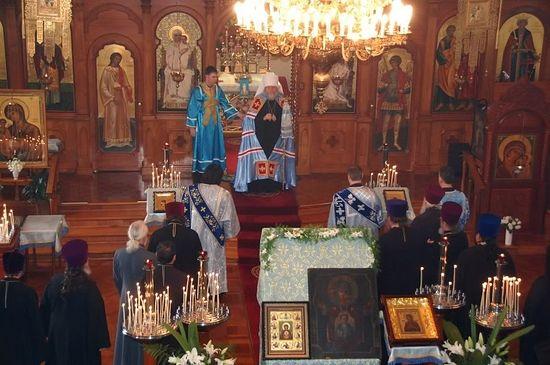 Празднование 25-летия епископской хиротонии митрополита Илариона