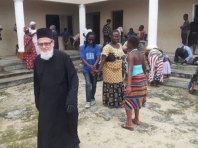 Архимандрит Фемистокл из Сьерра-Леоне: Мы ждем эту помощь с великой надеждой