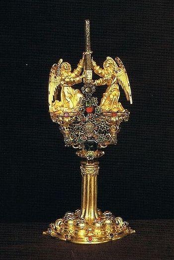Реликварий со Святым гвоздем в Бамбергском соборе
