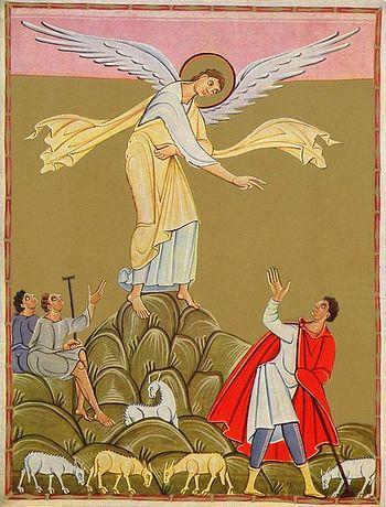 Иллюстрация из евангелистария «Перикопа Генриха II»