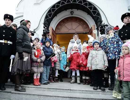 Великое освящение храма св. Александра Невского в Калининграде