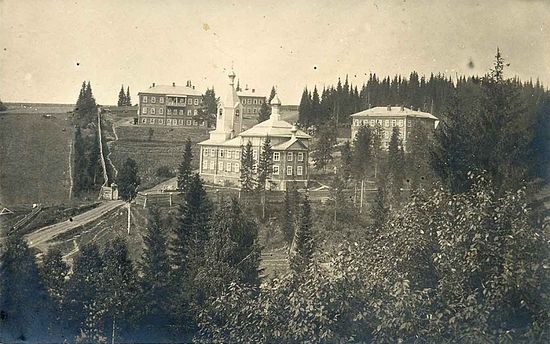 Bakharevsky Kazan Mother of God Sts. Seraphim and Alexis Convent. 1890s.