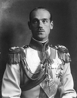 Grand Duke Michael Romanov who was killed alongside his faithful British servant Nicholas Johnson