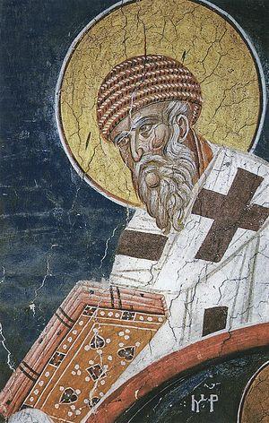 Спиридон еп. Тримифунтский, свт.; Балканы. Сербия. Дечаны; XIV в.