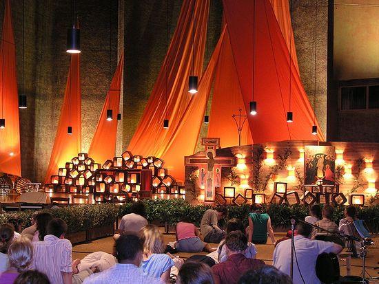 Экуменическая молитва в общине Тезе