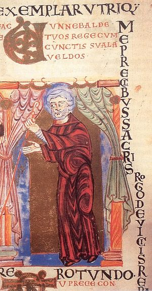 Святой Вунибальд