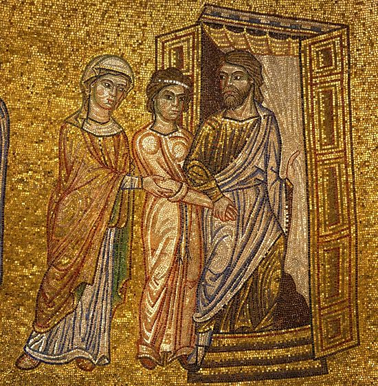Сарра передает Агарь Аврааму