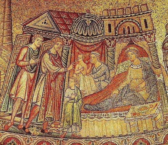 Иосиф с Асенефой и детей