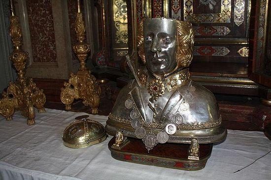 Реликварий св. Севастьяна (фрагмент)