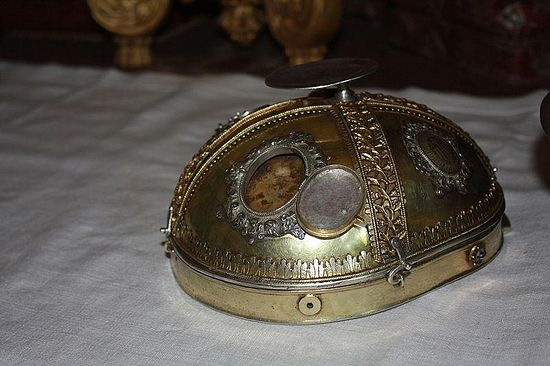 Реликварий св. Себастьяна (фрагмент)