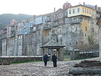 Iveron Monastery, Mt. Athos.