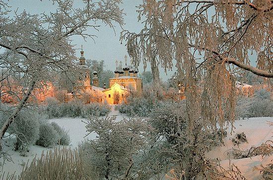 Храм прп. Димитрия Прилуцкого на Наволоке. Фото: архиепископ Максимилиан (Лазаренко)