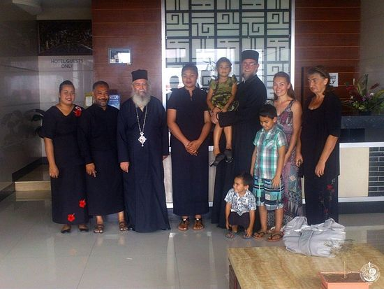 From the first visit of an Orthodox missionary in Tonga