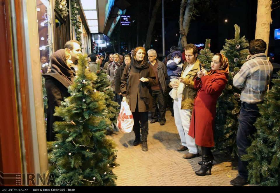 иран фото на улице