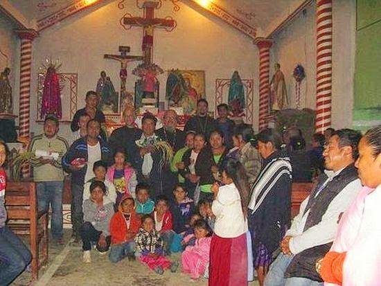 В церкви Сан-Эстебана