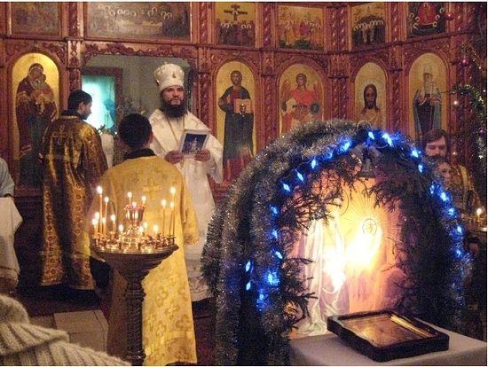 Праздник Рождества Христова в Тарской епархии, 2013 год