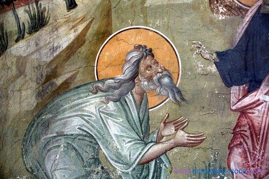 Abraham. Gracanica Monastery, Serbia.