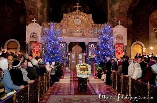 Рождество Христово в Киево-Печерской Лавре
