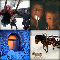 «Снег летит по всей России словно радостная весть»