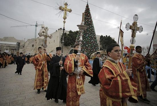 orthodox christians are beginning their christmas celebrations tuesday members of the greek orthodox clergy are - Greek Orthodox Christmas