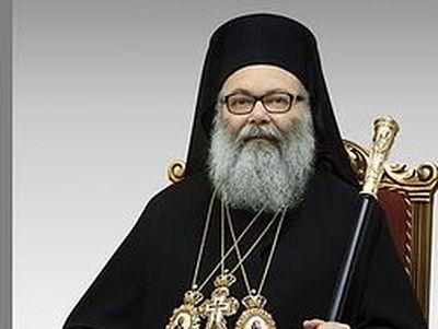 Патриарх Иоанн X: О Христос! Вместо смирны мы несем тебе наши слезы
